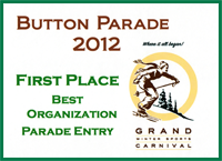 First Place Award in the 2012 Horace Button Parade